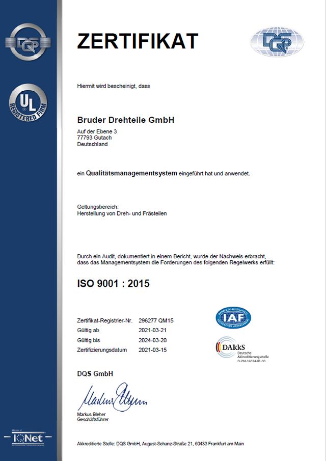 Zertifikat QM15 2021-03-21 deutsch