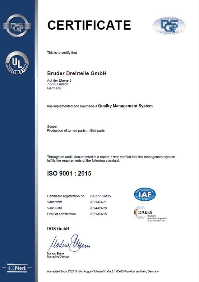 Zertifikat QM15 2021-03-21 englisch